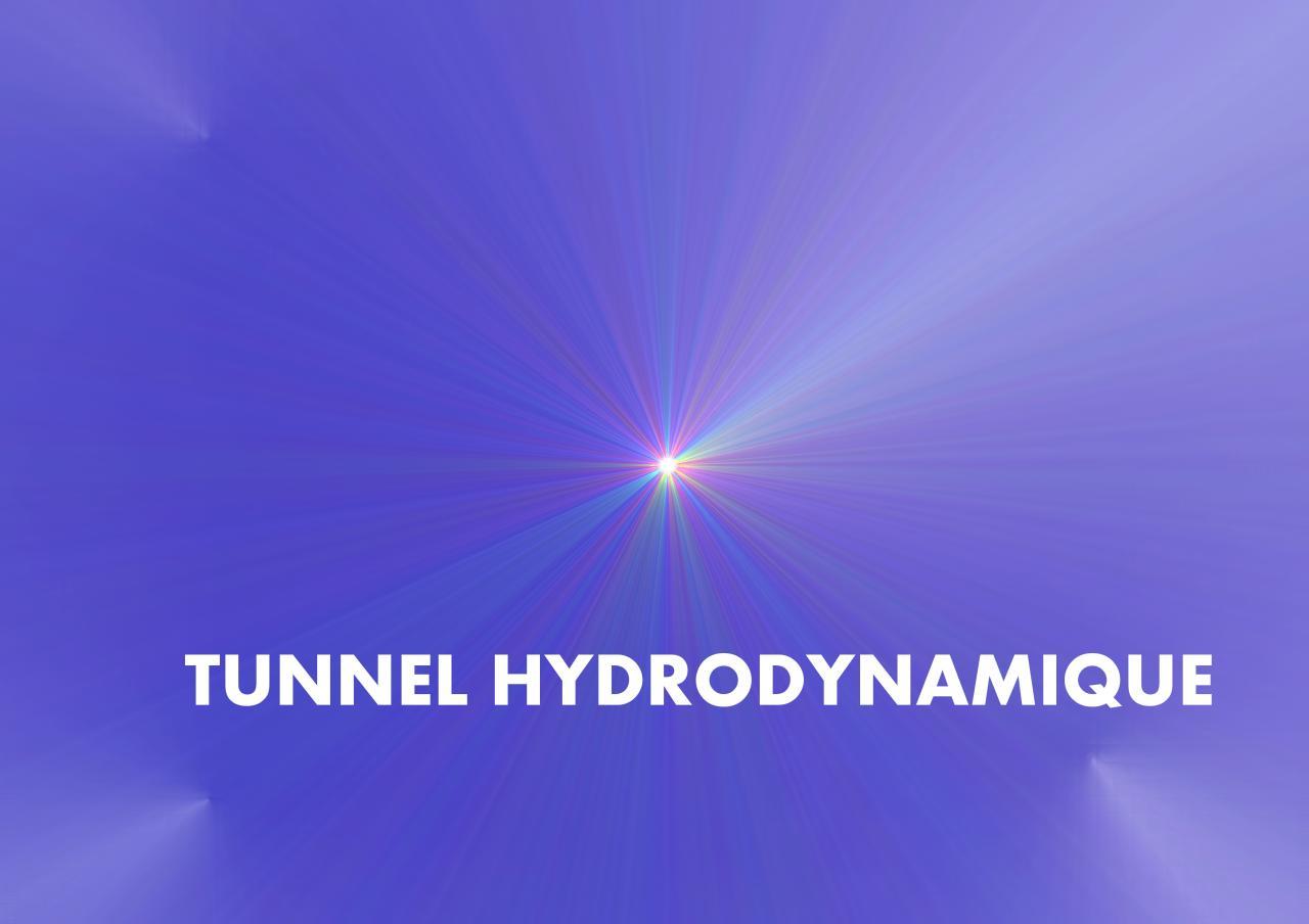 plaquette PAGE TITRE TUNNEL HYDRDYNAMIQUE